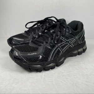 Asics Gel-Kayano 21 Onyx Black Running Shoes T4H7N